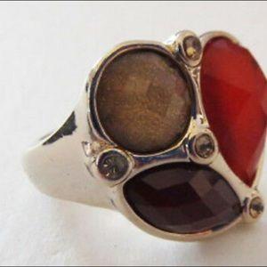 NWT Premier Designs Poppy Ring Size 10